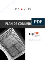 Documento de Plan de Comunicaciòn
