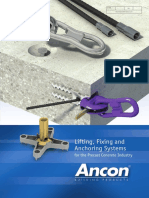 Lifting Fixing Anchoring Systems v2 Nz 0913