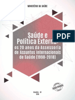 Saude Politica Externa 20 Anos Aisa