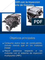 Motores GDI Con La Inyeccion Directa de Gasolina