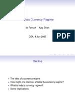 Currency Regime