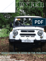 UAZ Hunter Comprehensive Brochure for Philippine Market