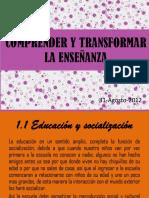 comprenderytransformarlaenseanza-121009214628-phpapp01