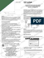 Manual de Configuracion Rapida Repetidor TL WA801ND V2