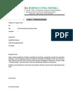 contoh surat permohonan penyiaran radio