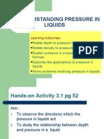 3.2 Pressure in Liquids