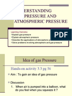 3.3 Gas and Atmospheric Pressure