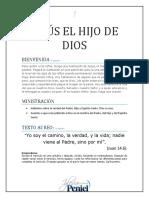 Lección 5 - Jesús El Hijo de Dios