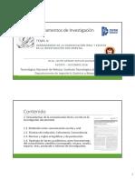 Tema II Fundamentos de Investigacion 2018