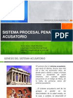 Sistema Procesal Penal Acusatorio