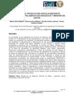 Análisis de Producción Avícola Mediante Técnicas de Inteligencia de Negocios y Minería de Datos