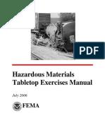 HazMat Tabletop Manual