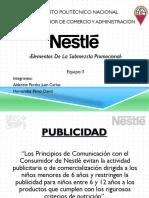 Nestlé La mezcla subpromocional