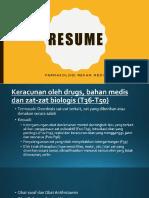 Resume Farmakologi Rekam Medik