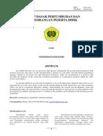216097148 Jurnal Pertumbuhan Dan Perkembangan PDF