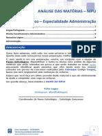 Analise MPU