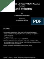 Powerpoint SDGs