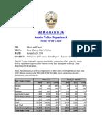 APD Preliminary 2017 Annual Crime Report