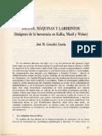 Jaulas, máquinas y laberintos__José M. González García