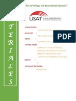 materiales informe
