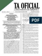 Gaceta Oficial Extraordinaria 6402
