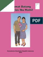 Leaflet Kelas Ibu Hamil