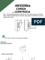 URP –Conexiones Pernos Carga Excentrica2016I I