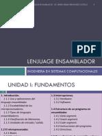 Lenjuage Ensamblador Unidad 1 Del 1 Al 1.3