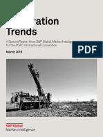2018 World Exploration Trends Report 2018 SP Global Market Intelligence