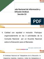 Acuerdo Nacional Para Una Educación Con Equidad y Calidad