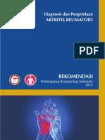 Rekomendasi Reumatoid Artritis 2014