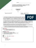 Pauta I3 optimizacion 2017 AGL 230 UC