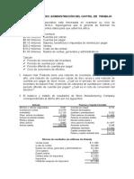 Casos de Capital de Trabajo.doc