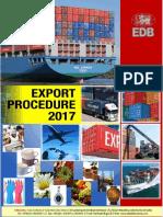 Export Procedure 2017