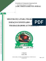 ESPAÇO CONFINADO - 1a EDIÇÃO - VIGIA E TRABALHADOR AUTORIZADO.doc