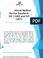 International Medical Device Standards