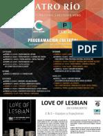 Ibi Programacion Cultural septiembre-diciembre 2018