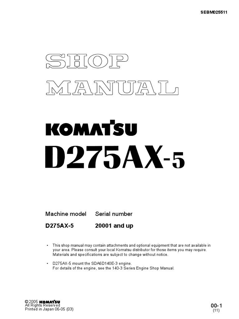 Komatsu D275ax