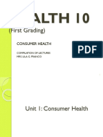 Health 10 1st