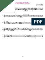 Pantera Rosa - Violin