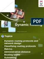 Chapter 6 Dynamic Routing