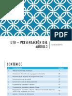 Ut0 – Presentación Del Módulo