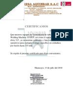 Certificado de Equipos 1