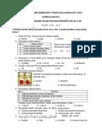4. k13 Soal Pas Dan Kunci Kls 4 k13 2017-2018 Pai Smt 1