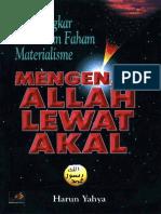Harun yahya - Mengenal allah dgn akal.pdf