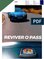 """NOVO ALPINE A110 FRENTE AO FIAT 124 GT NA """"TURBO"""""""