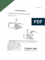 Welding Gun Manual