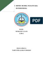 Peradaban Hindu Budha Nusantara Di Indonesia