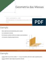 Geometria das massas - Revisão