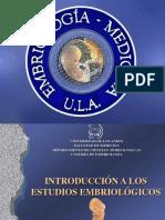 Tema 1 - Importancia de La Embriología